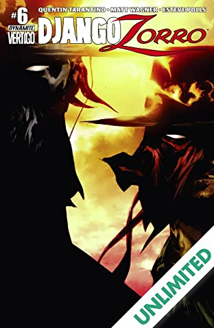 Django/Zorro #6 (of 7): Digital Exclusive Edition
